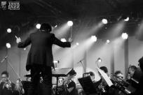 Ricky Lionardi Jazz Orchestra accompanying Dira Sugandi & Glorify The Lord Ensemble at Java Jazz Festival 2012