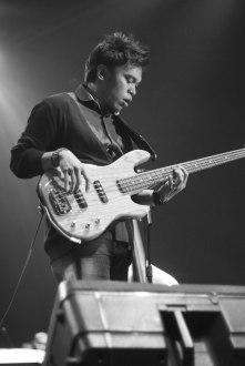 Ricky Lionardi Big Band accompanying Barry Likumahuwa Project at Java Jazz Festival 2012