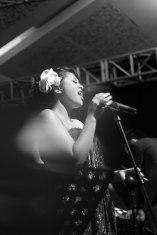 Ricky Lionardi Jazz Orchestra accompanying Dira Sugandi & Glorify The Lord Ensemble at Java Jazz Festival 2012 (photo by Marthin Fort)