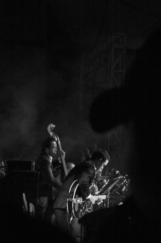 Nikita Dompas & Indra Perkasa for Ricky Lionardi Big Band on Moluccan Night Special Show Java Jazz Festival 2006