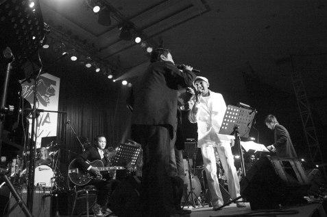 Glenn Fredly, Andre Hehanusa, Iwan Zein for Ricky Lionardi Big Band on Moluccan Night Special Show Java Jazz Festival 2006