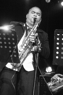 Indra Aziz for Ricky Lionardi Big Band on Moluccan Night Special Show Java Jazz Festival 2006
