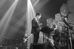 Ricky Lionardi Big Band accompanying Marcell Siahaan at Java Jazz Festival 2014 (photo by Melon Lemon)